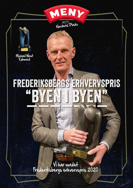 "Frederiksbergs erhvervspris ""Byen i Byen"""